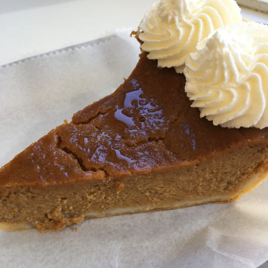 Pumpkin pie from Baked by Susan in Croton-on-Hudson.