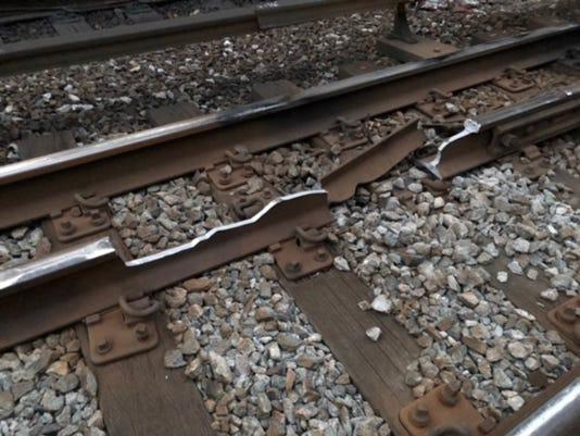 Metro-North broken rail