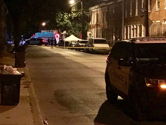 Spruce St Shooting