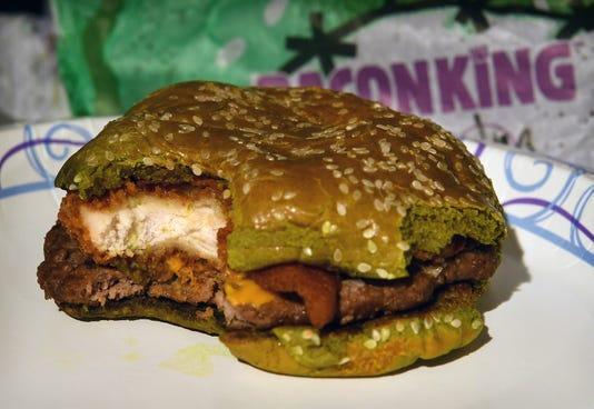 Nightmare King Green Burger