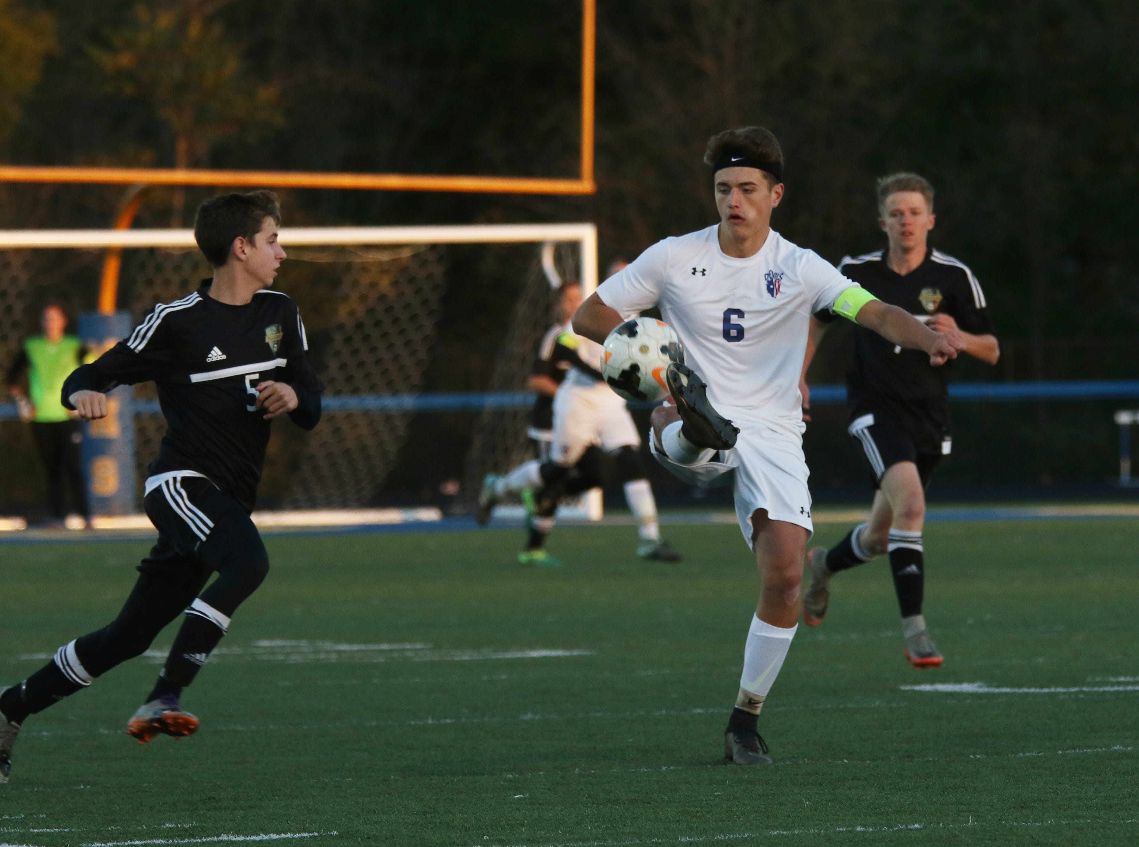 River View knocked Zanesville out of the tournament with a 2-0 win over the Blue Devils Wednesday night at Maysville High School.