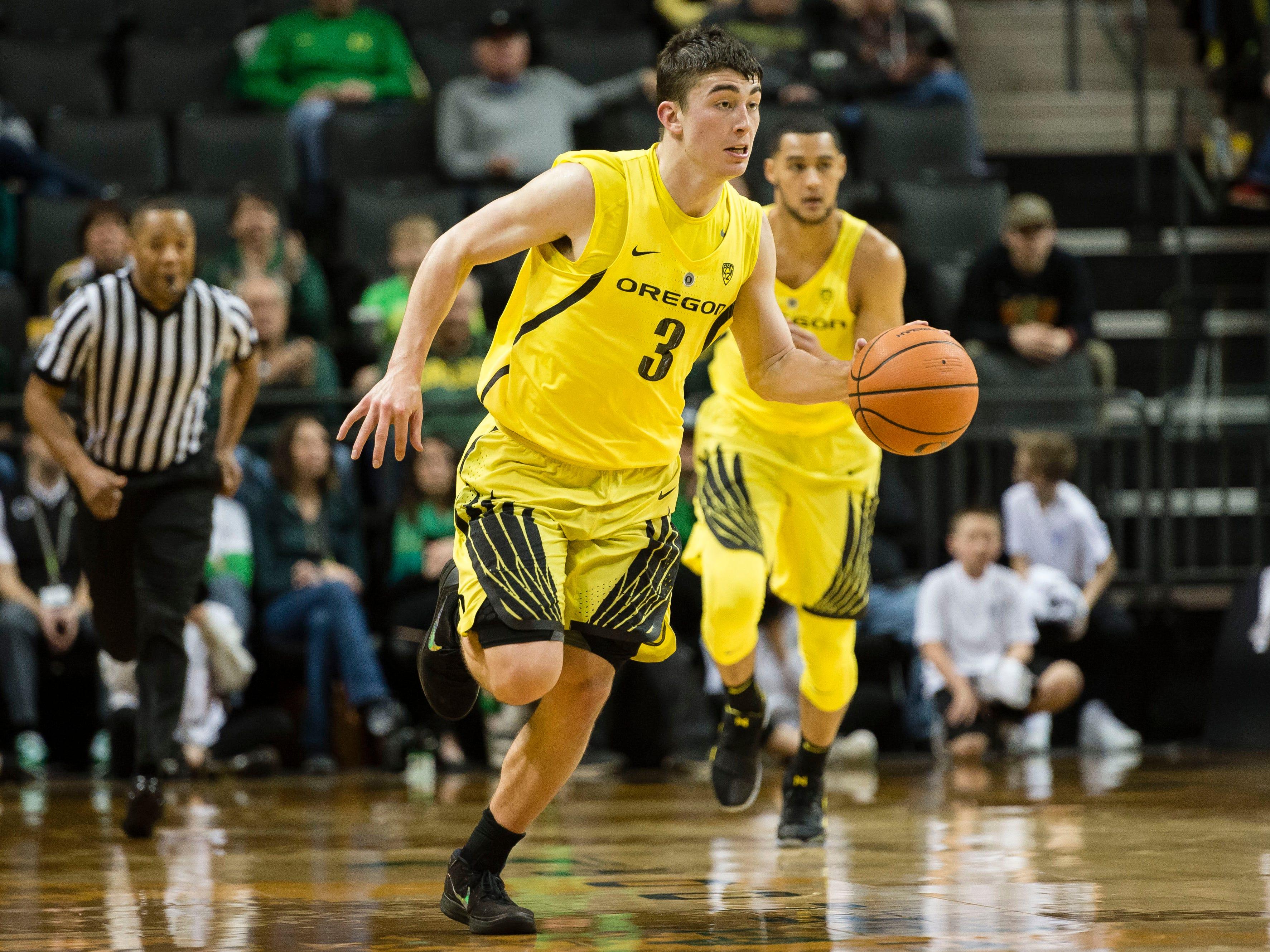 No. 16 Oregon (23-13 in 2017-18).