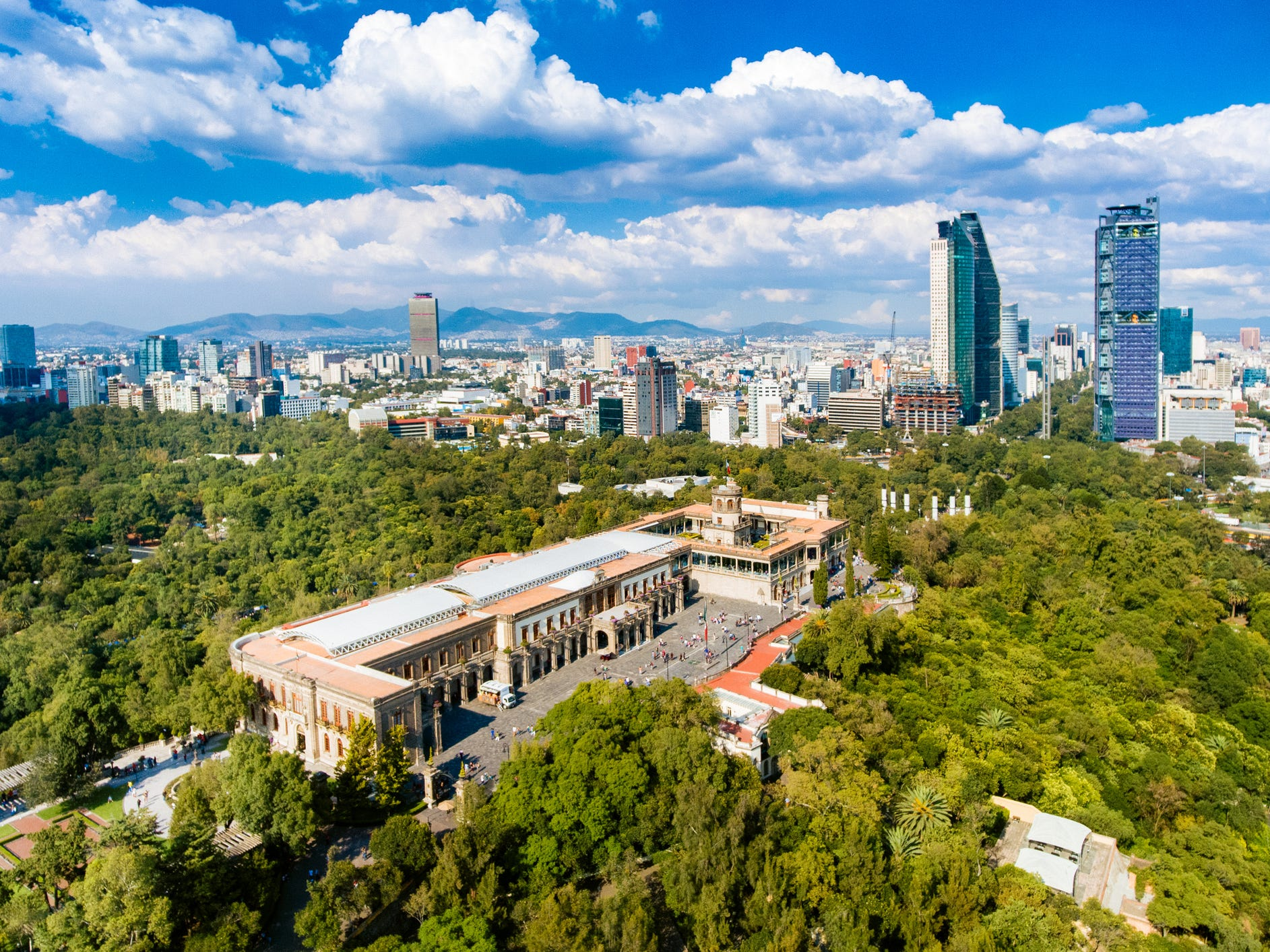 Chapultepec Castle in Mexico City: Unlike other beautiful castles in North America, Mexico City's Chapultepec Castle was once home to real royalty. Built during the colonial period by the viceroy of New Spain in 1833, the castle has had an eventful history.