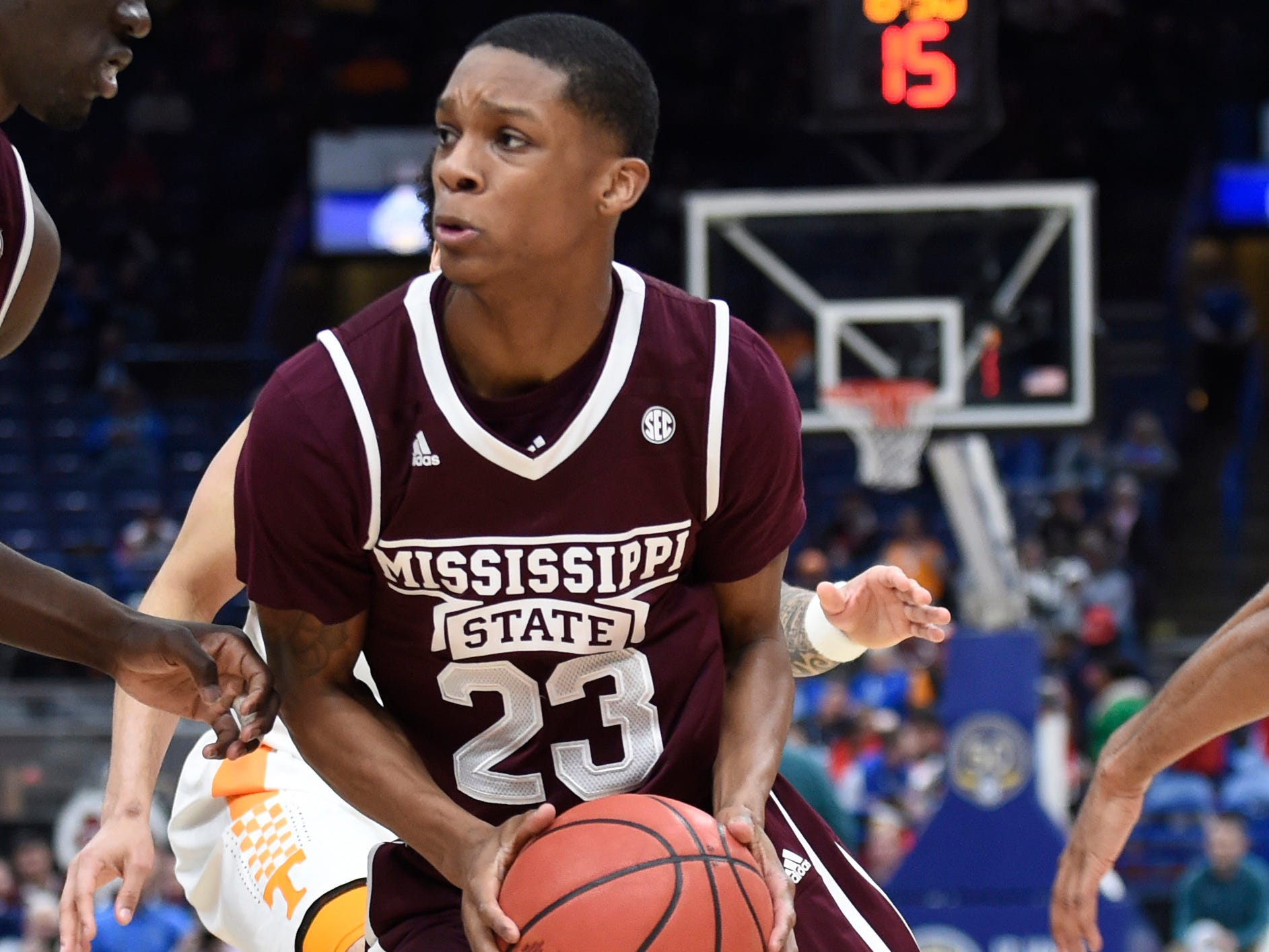 No. 19 Mississippi State (25-12 in 2017-18).