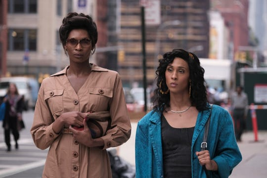 Dominique Jackson, left, and Mj Rodriguez star in FX's 'Pose,' which GLAAD praises for featuring the most  transgender series regular characters on a scripted U.S. show.