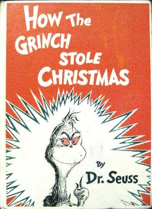 'How the Grinch Stole Christmas' by Dr. Seuss was first published in 1957.