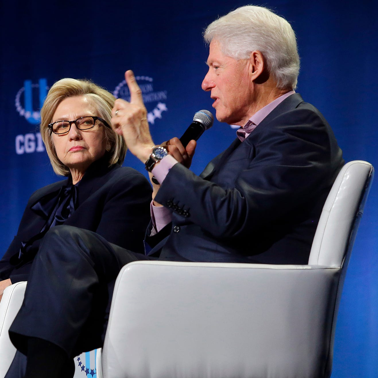 Clintons may have to be pushed off the stage: Golden