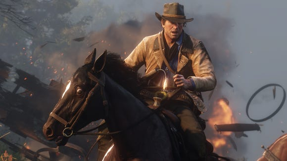 Your horse is integral to your success in 'Red Dead Redemption 2.' Your care for  your horse -- feeding, grooming, tack upgrades -- will help its performance.