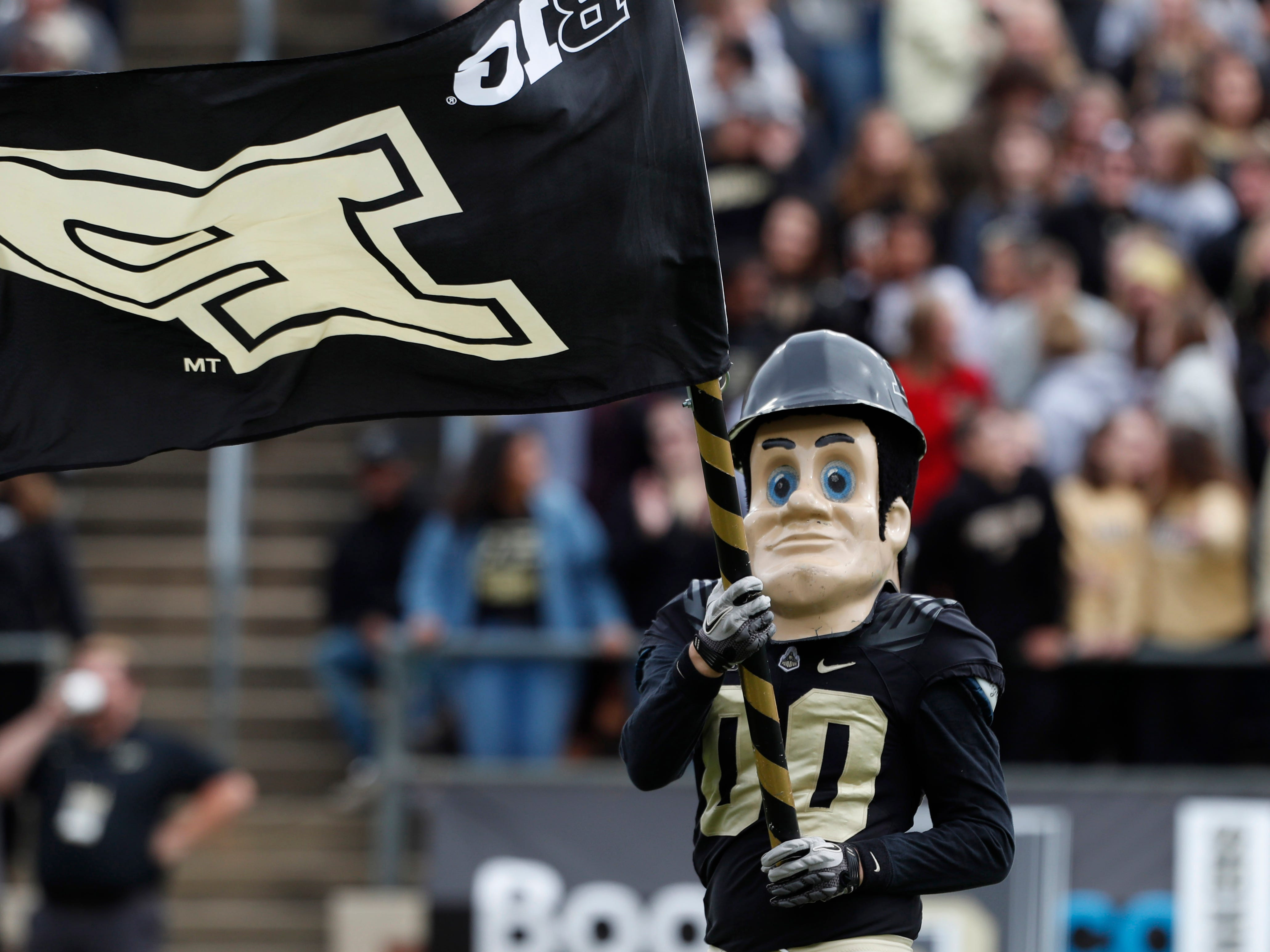 Purdue Pete is super scary (especially to Buckeyes).