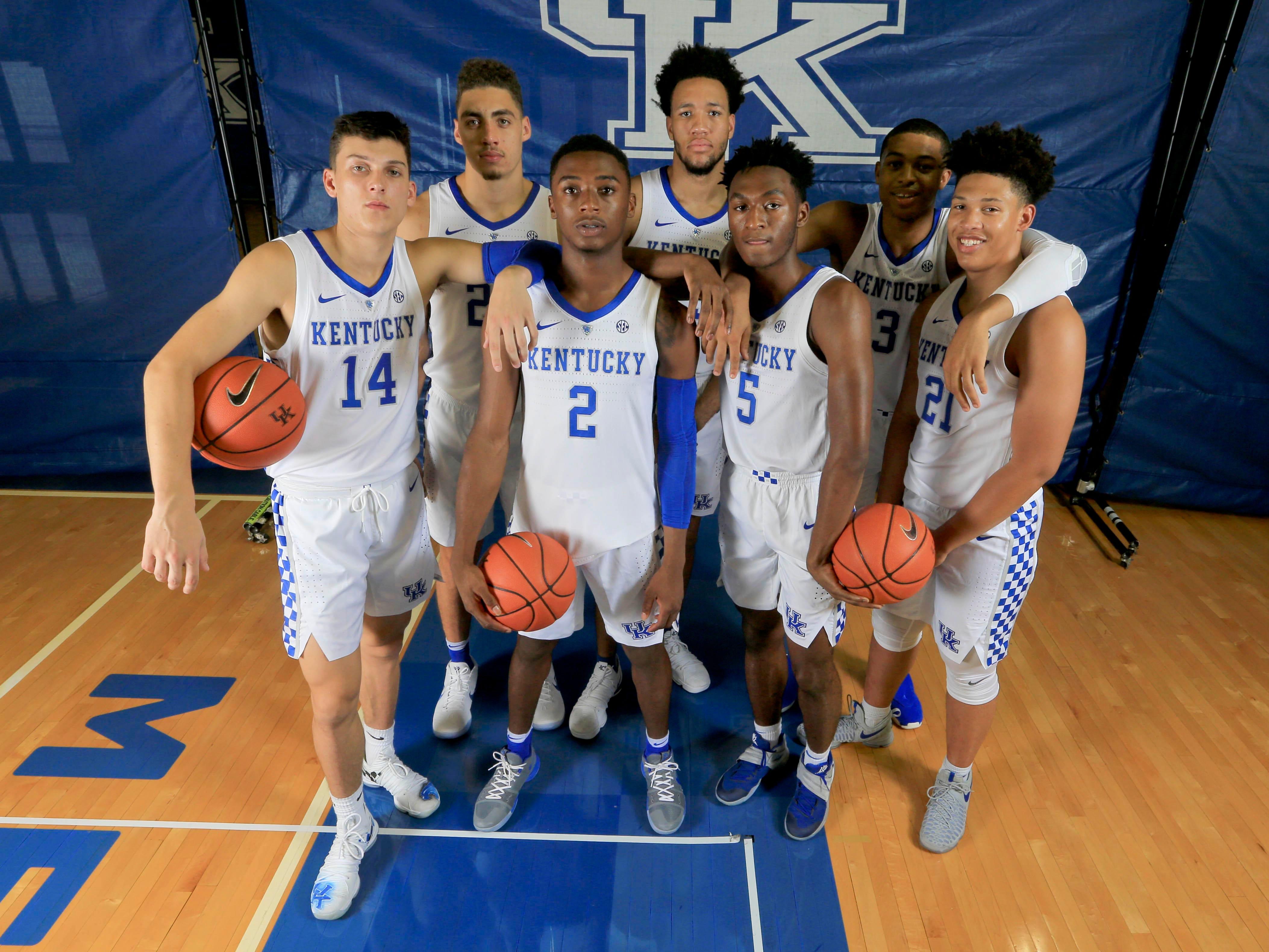 No. 2 Kentucky (26-11 in 2017-18).
