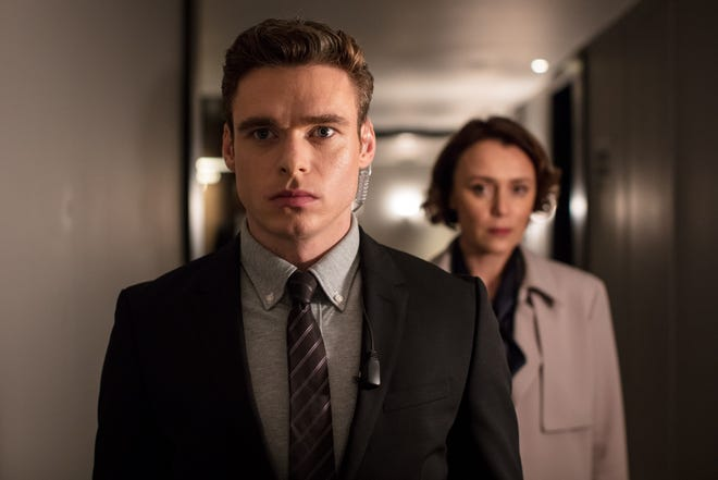 Richard Madden, left, and Keeley Hawes star in Netflix's 'Bodyguard,' a big hit during its recent run in the United Kingdom.