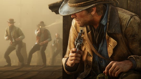 There's plenty of opportunities to see out cover during combat in 'Red Dead Redemption 2.'