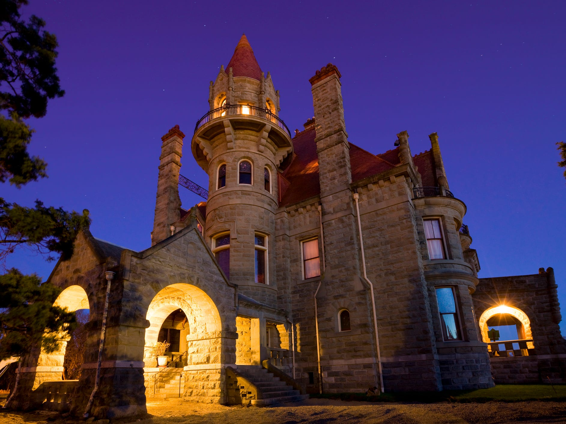 """This Victorian-era mansion is considered """"a bonanza castle,"""" which refers to the massive homes built by wealthy industrial-age tycoons."""