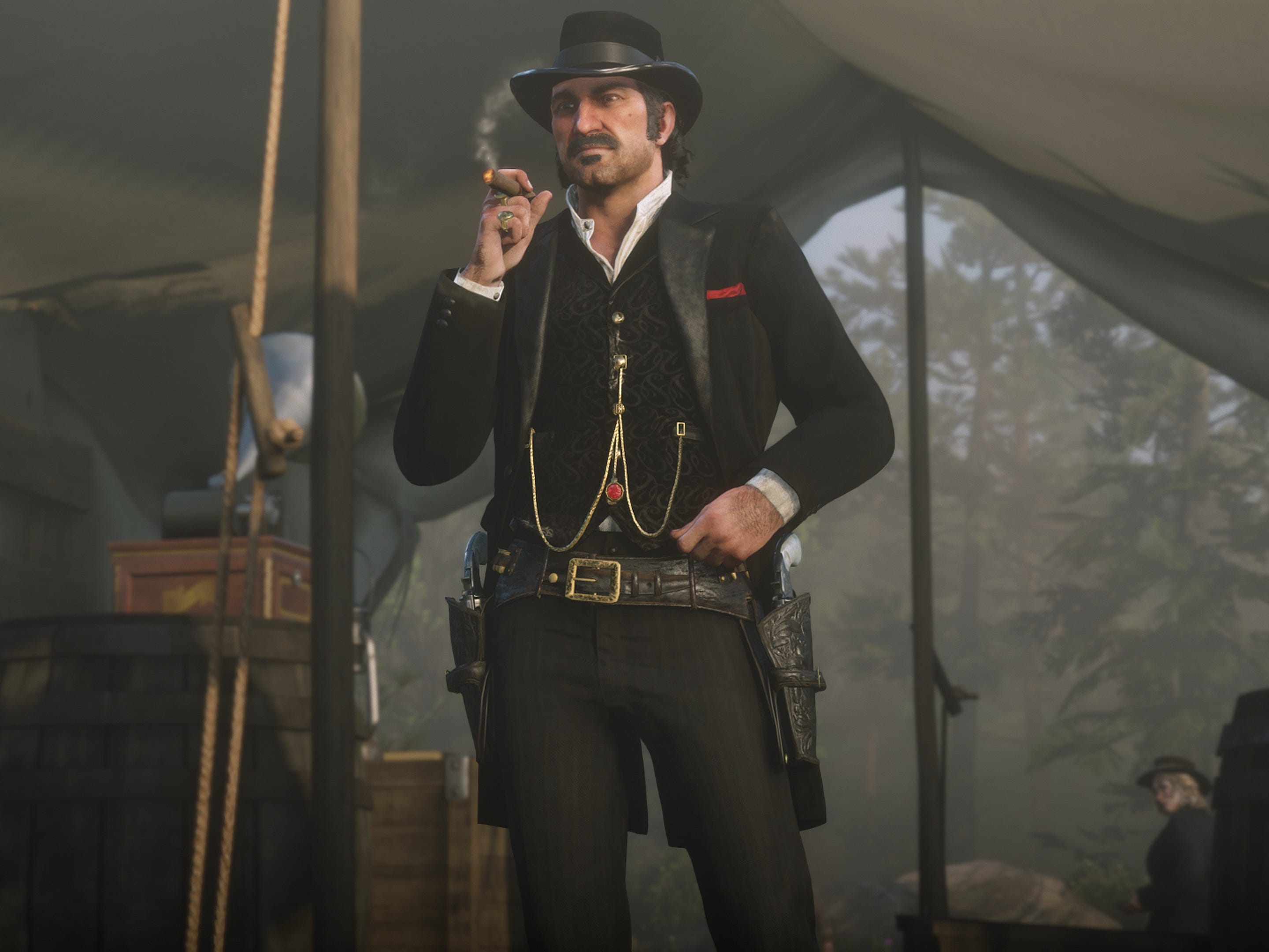 Dutch van der Linde is the charismatic, idealistic leader of the gang at the heart of  'Red Dead Redemption 2.'