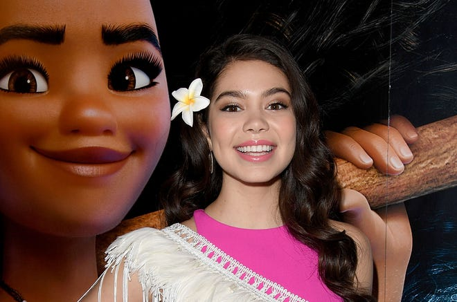 Auli'i Cravalho, the actress who voiced Moana in the hit Disney film, said it's OK for people to dress up as her character for Halloween.