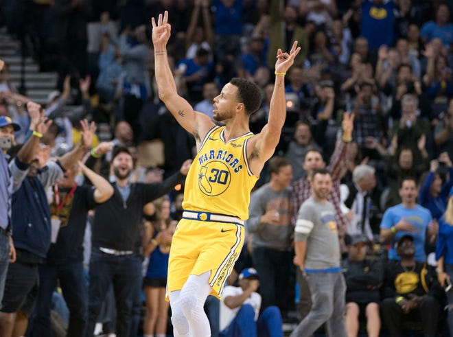 Steph Curry notched his sixth career 50-point game.