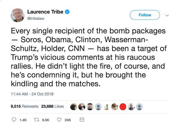 A tweet from @TribeLaw.