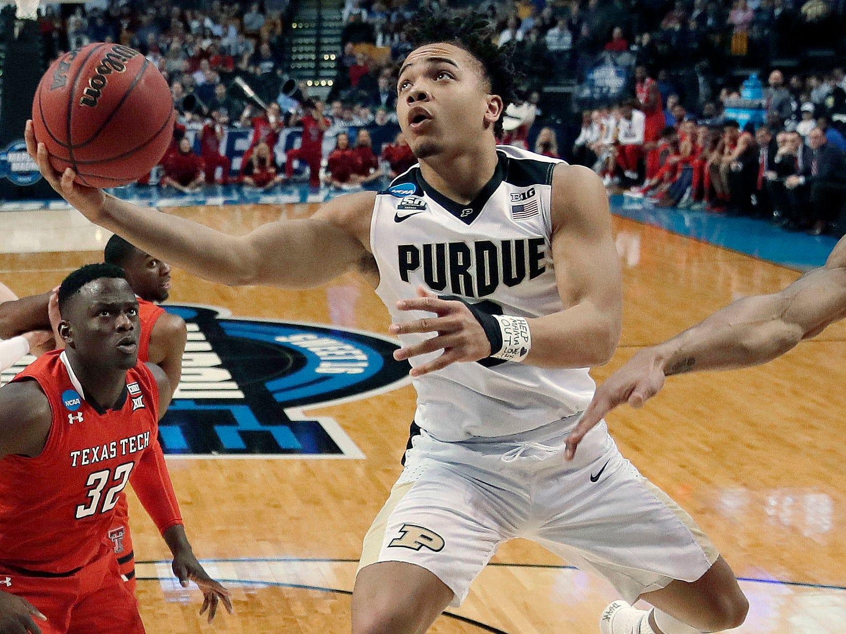 No. 22 Purdue (30-7 in 2017-18).