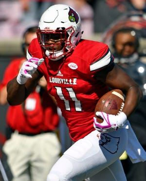 Kemari Averett played against Boston College days after Louisville campus police opened a rape case involving the tight end