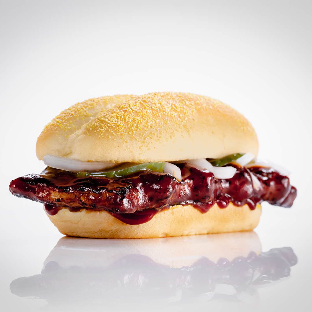 5 - - Calories: 1 McRib, 1 - Munchkins, or 6 Cups of Blueberries