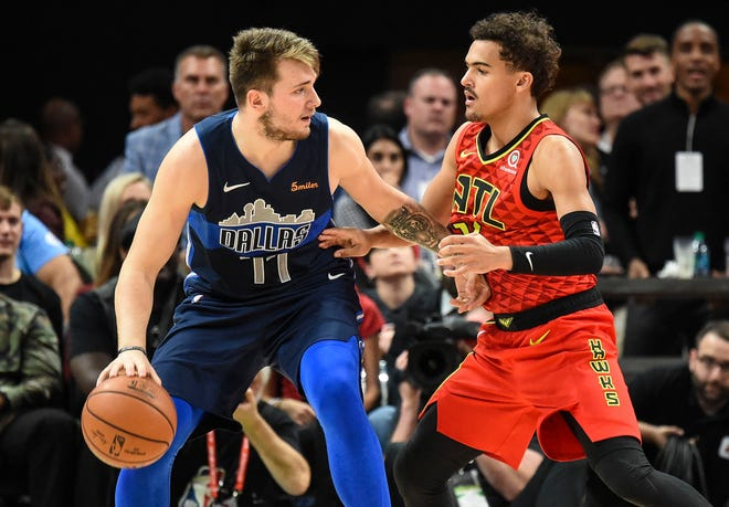 Trae Young and the Hawks beat Luka Doncic and the Mavericks in the rookies' first meeting.