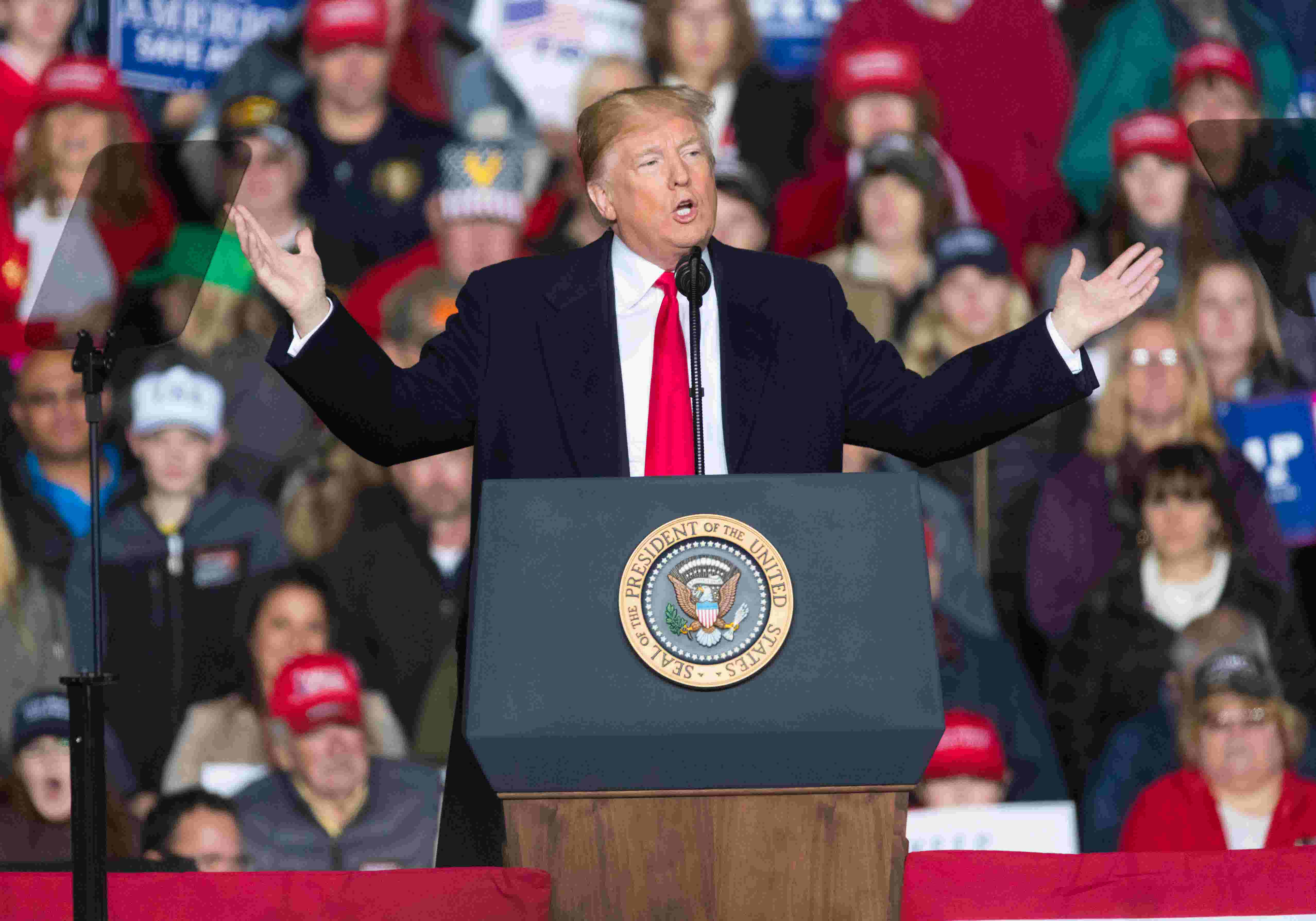 Trump to Wisconsin rally: 'Media also has responsibility to set a civil  tone'