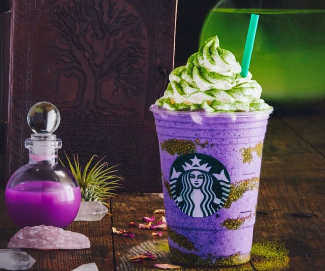 2020 Halloween Frapp New Starbucks drink: Witch's Brew Frappuccino debuts for Halloween