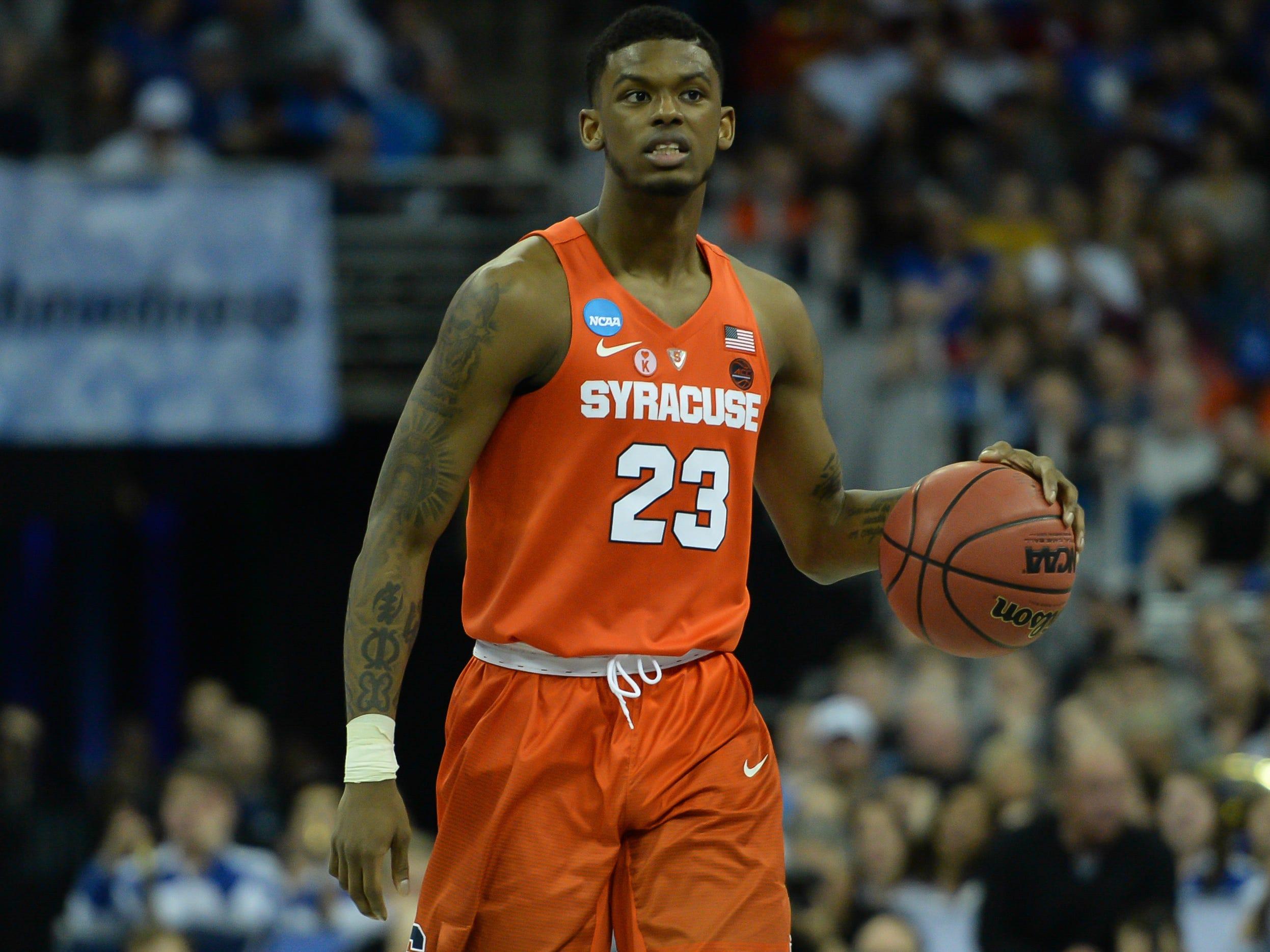 No. 14 Syracuse (23-14 in 2018-18).