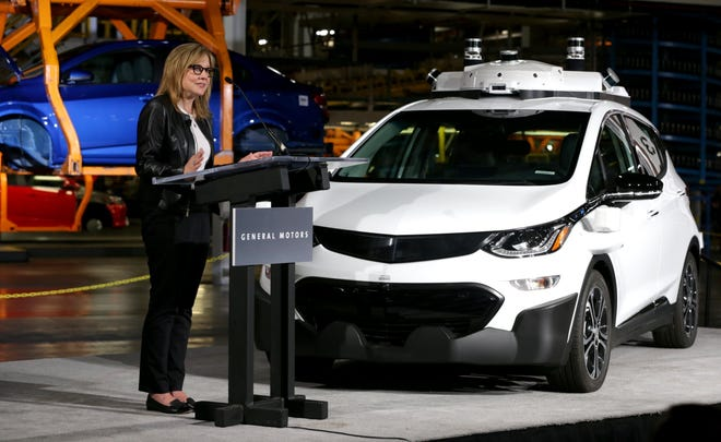 GM Chairwoman and CEO Mary Barra