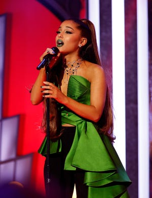 Ariana Grande is hitting the road.