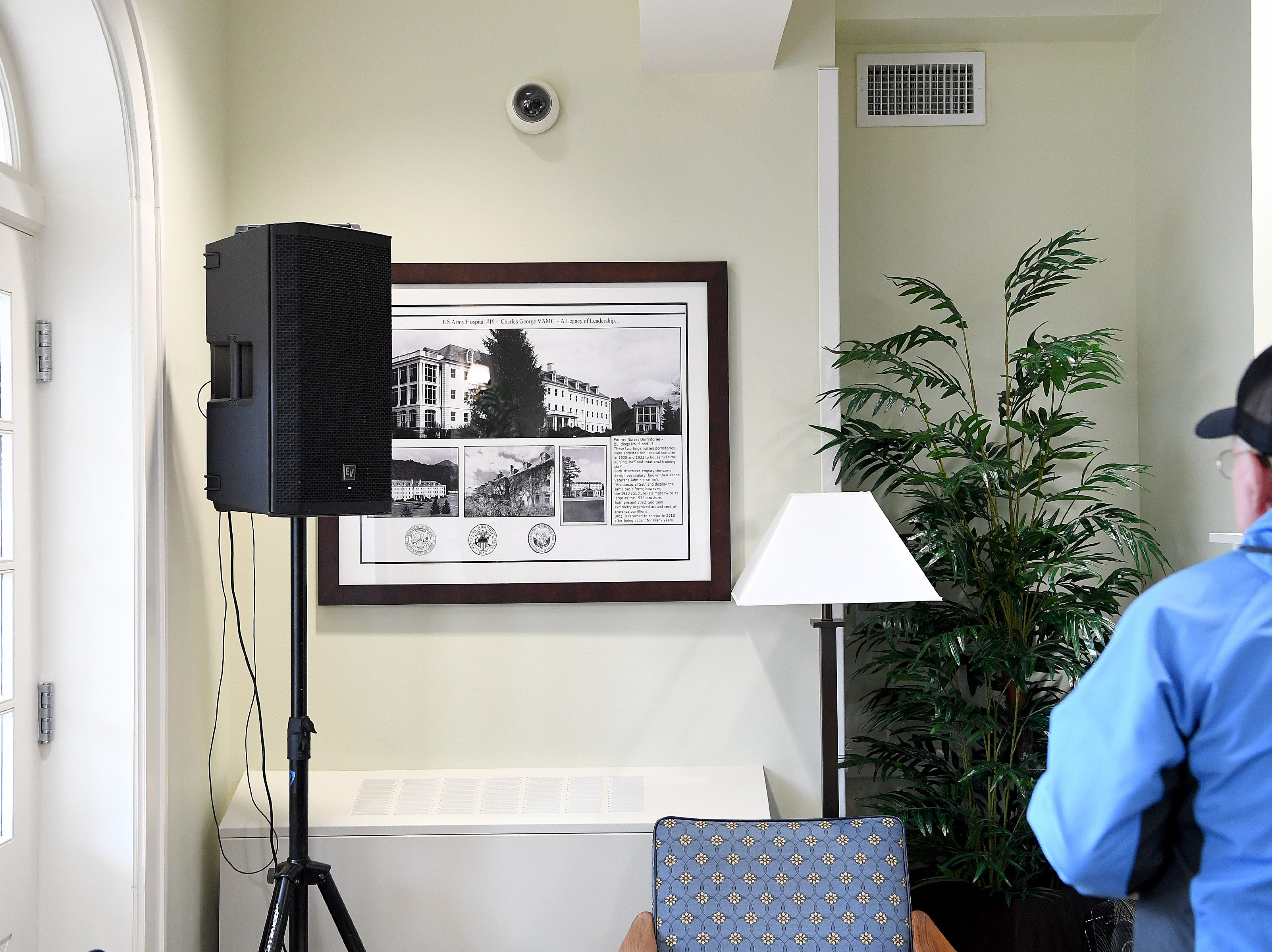 The Veterans Hope and Recovery Center on the campus of the Charles George VA Medical Center is officially open following a ribbon cutting ceremony on Oct. 26, 2018. The building was opened in the 1930s as a dormitory for nurses working on the campus.