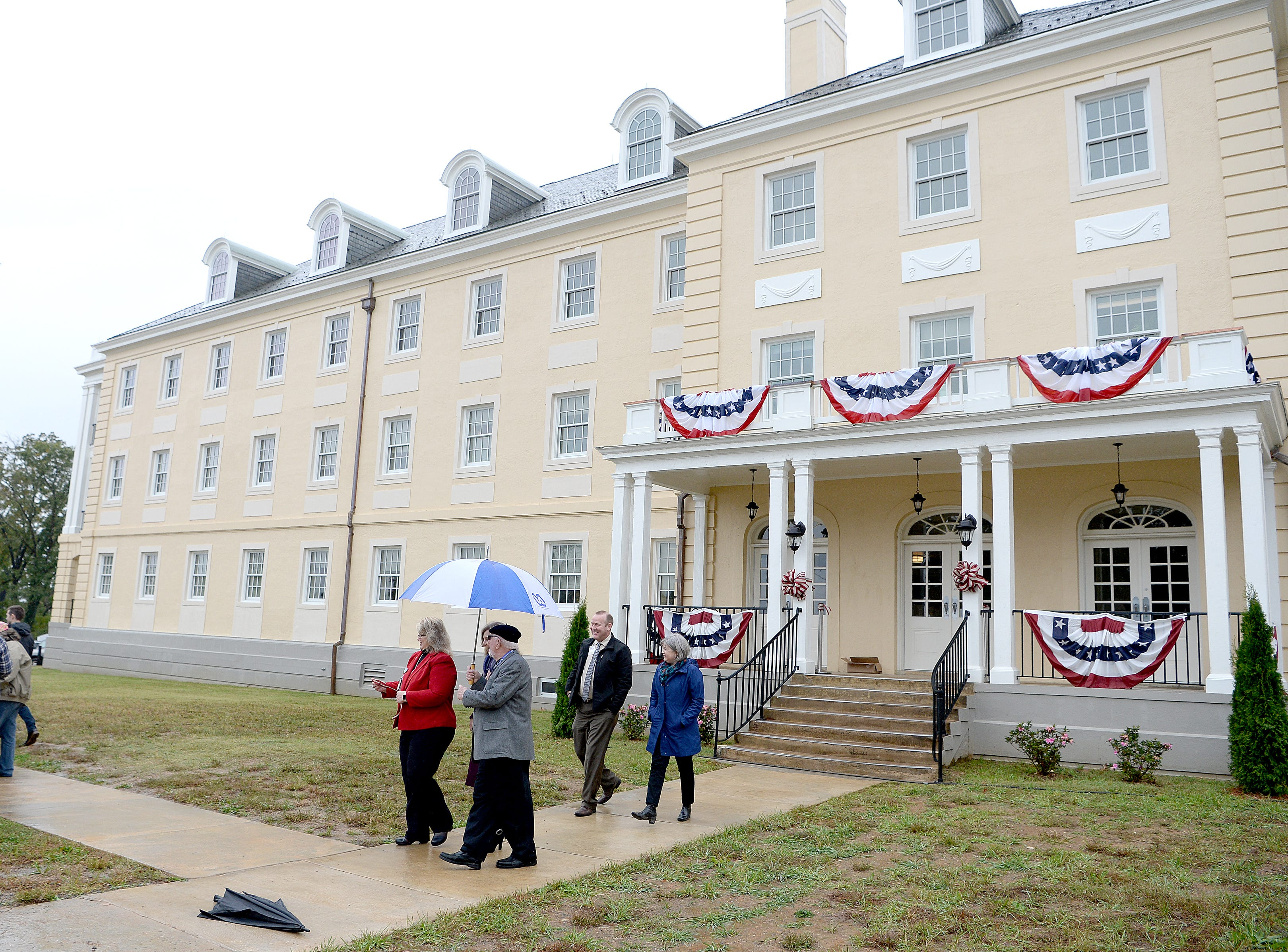 The Veterans Hope and Recovery Center on the campus of the Charles George VA Medical Center is officially open following a ribbon cutting ceremony on Oct. 26, 2018.