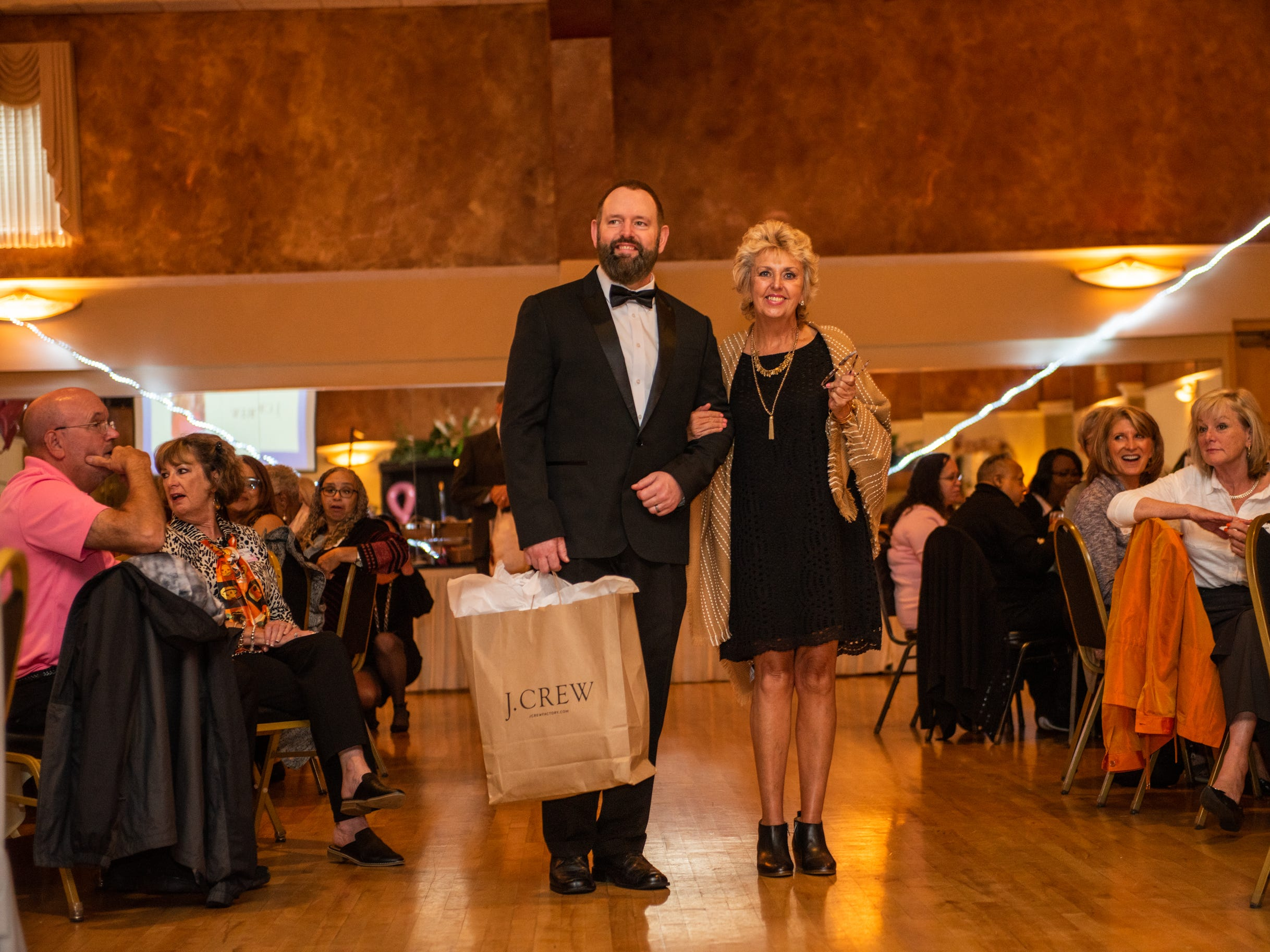 The Here's Hope Fashion Show raises money for the Hope Chest for Women on Oct. 20, 2018, at the Asheville Event Centre.