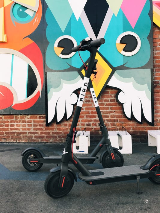 Bird E Scooters Launched In Asheville Oct 25 Violate City Rules