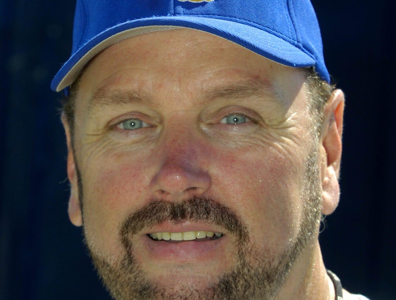 Maine-Endwell football coach Kevin Wagstaff. 2006