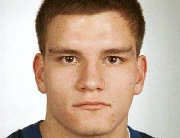 JOHN FRIESER M-E jr for 1998 all metro football team.