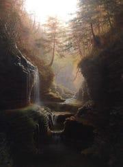 """Rainbow Falls,"" by Capt. James Hope."