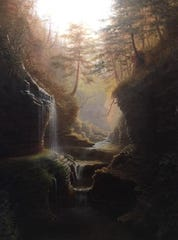 """Rainbow Falls,"" by Capt. James Hope."