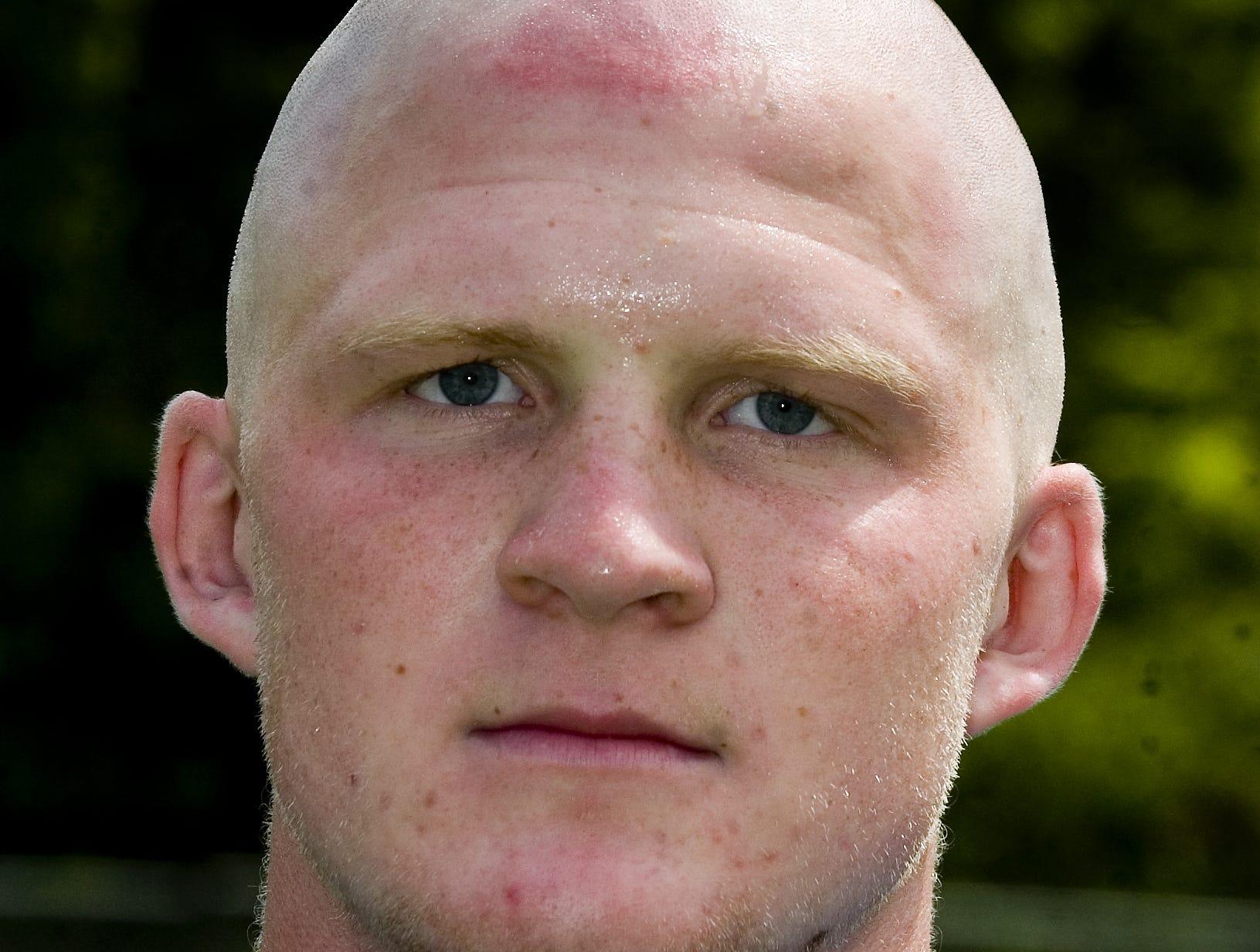 Maine-Endwell's football Mitch Tallon, 2008