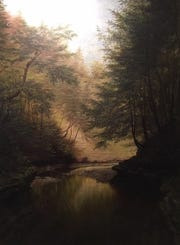 """""""The Ramble,"""" by Capt. James Hope."""