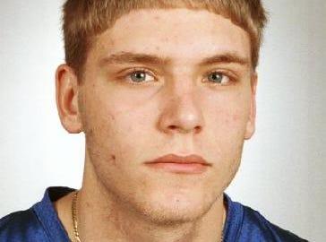 RYAN CARNEY M-E sr for 1998 All Metro Football Team.
