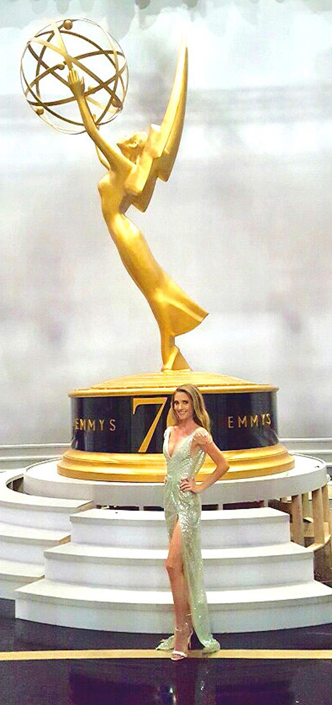 Mercedes Brunelli attended the Emmy Awards as a brand in the Giving Suite supporting Television Academy Foundation.