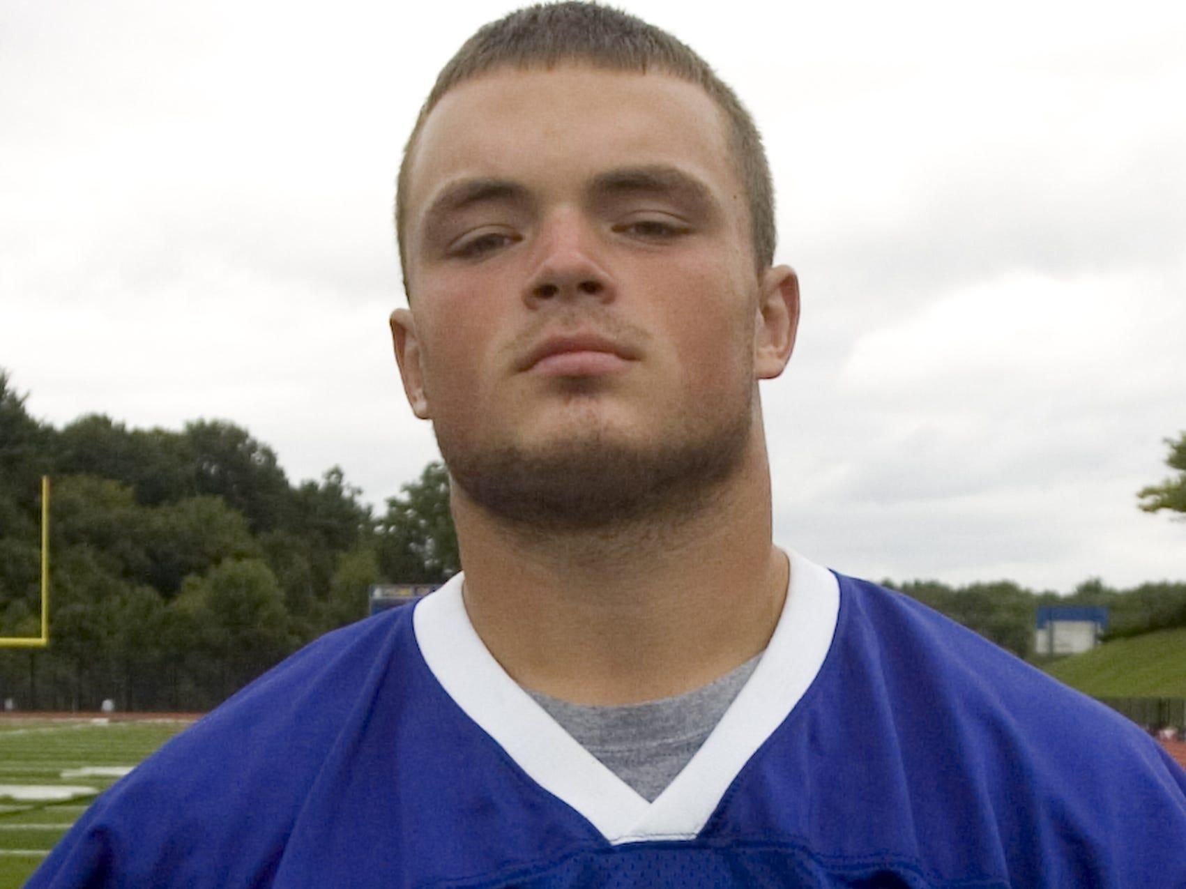 Maine Endwell High School Varsity Football Team 2010 #60 Ben Andrews