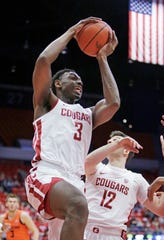 Robert Franks, Washington State's leading scorer last season, tested the NBA waters before opting to return to Pullman.