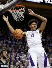 Matisse Thybulle and the rest of the Washington seniors hope to make their first NCAA tournament appearance next spring.