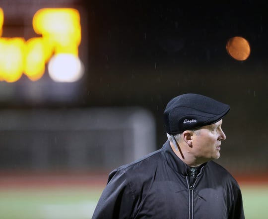 Klahowya football coach Dan Ericson took over the Eagles' program in 2011 after a pair of winless seasons. The team has posted winning record in five of the past six seasons.