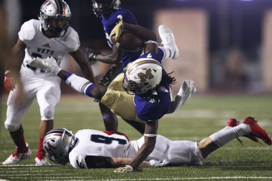 Corpus Christi's oldest school, the Miller Bucs, and the city's newest school, Veterans Memorial Eagles, meet in an anticipated showdown at Buc Stadium for the second consecutive year.