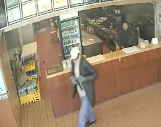 Pine Hill Police are seeking the public's help in identifying a suspect who held up the Asian Grill on Blackwood Clementon Road Thursday afternoon.