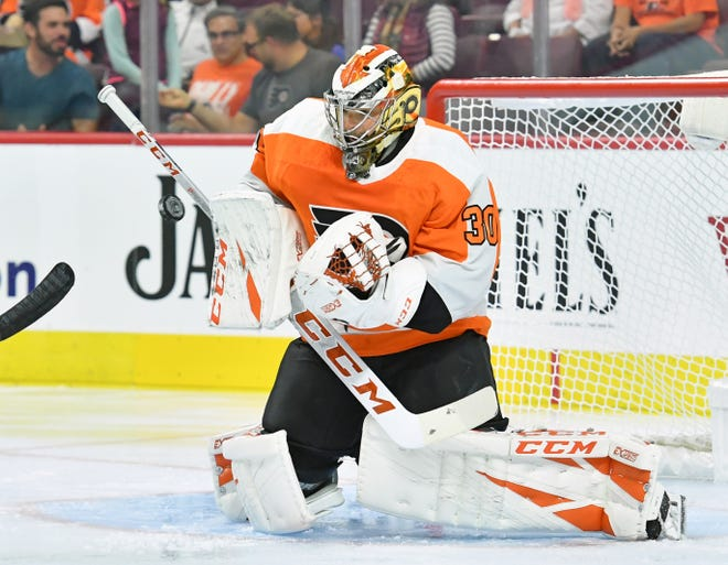 Nearly seven months to the day since his last NHL start, Michal Neuvirth will be between the pipes for the Flyers Saturday against the New York Islanders.