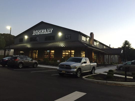 Bonesaw Brewing Company in Glassboro is an unusual thing in New Jersey: A new construction, free-standing brewery, not located in a downtown or in an industrial park. The brewery opened this summer.